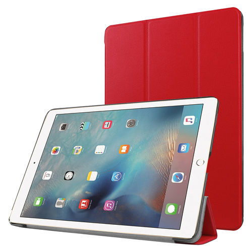 Trifold Sleep/Wake Smart Case for Apple iPad Pro (9.7 Inch) - Red